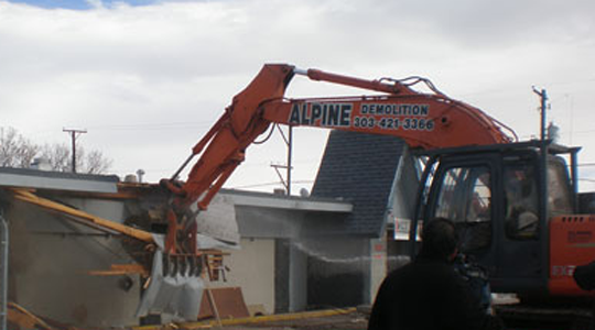 Denver Colorado - Construction - Demolition - Building Demolition Recycling - Environmental Remediation - Tank Removal