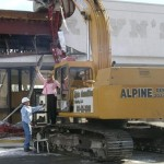 Demolition of Buckingham Mall