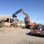 Sheraton Parking Garage Demolition