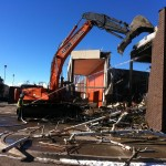 Demolition of JC Penney's