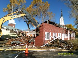Applewood Church Demolition - Lakewood, Colorado