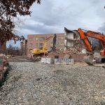 Denver University Aspen Hall Demolition