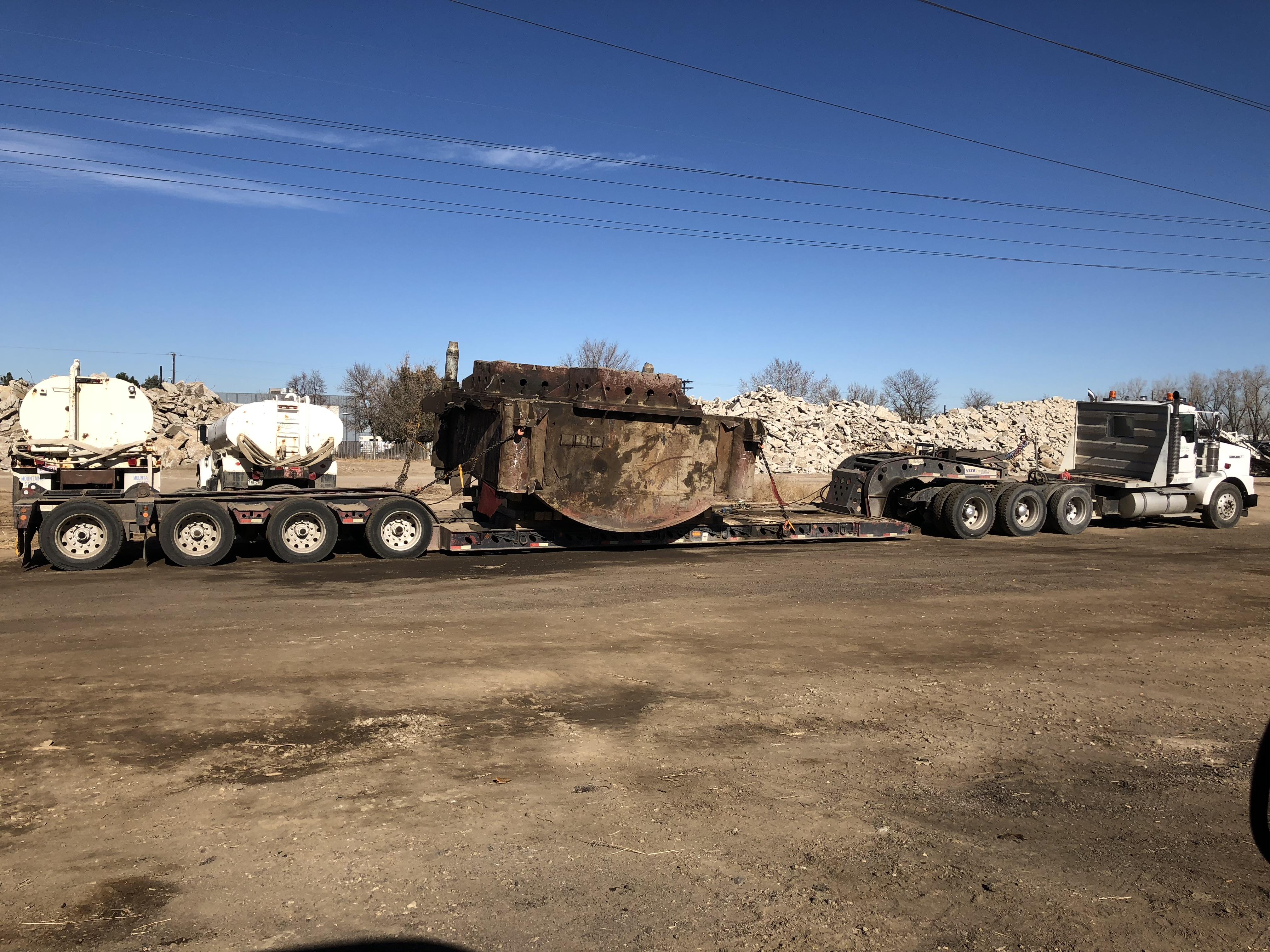 800 South Hoover Street Demolition, Longmont, Colorado - Alpine