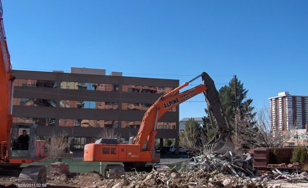 Seasons Pool Demolition Denver
