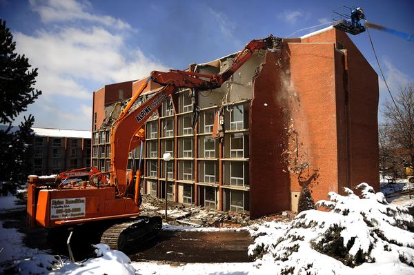 Four Points by Sheraton Hotel Demolition Denver